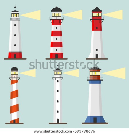 Lighthouse Stock Images Royalty Free Images Vectors