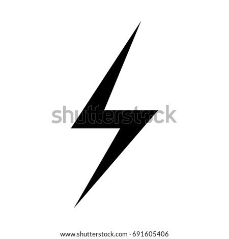 icon lighting. lighting bolt icon vector