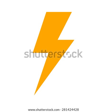 lightning bolt thunder bolt lighting strike stock vector royalty