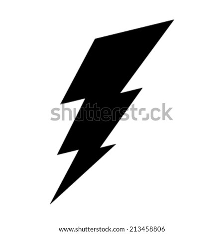 Lightning bolt vector icon  sc 1 st  Shutterstock : lighting bolt image - azcodes.com