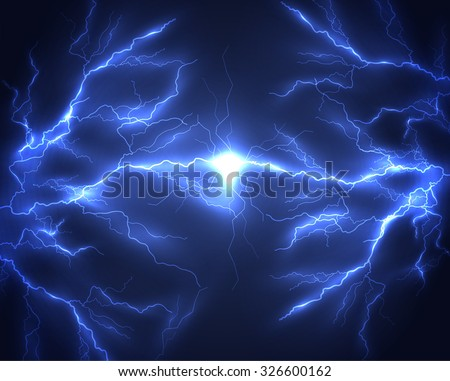 Lightning vector background. Eps10. - stock vector