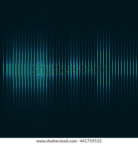 lights in background - stock vector