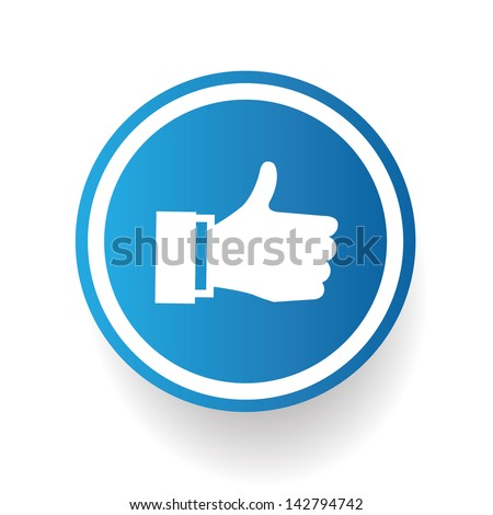 Like symbol,vector - stock vector