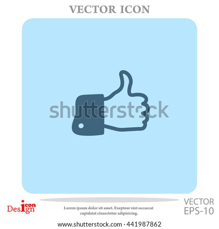 like vector icon