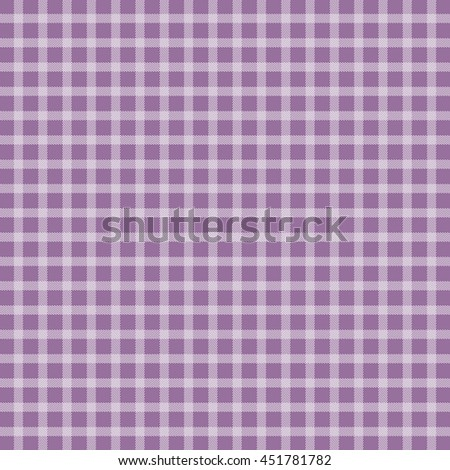 Lilac picnic checkered tablecloth