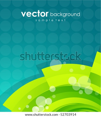 Lime shape. Vector abstract background - stock vector