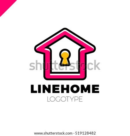 House Key Outline