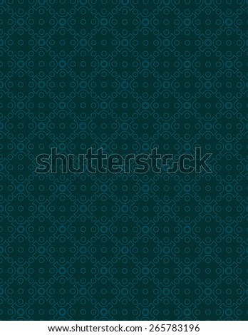 Line pattern over navy blue background - stock vector