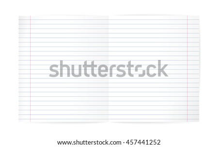 Notebook Lined Paper Background Texture Vector 626879105 – Lined Pages for Writing