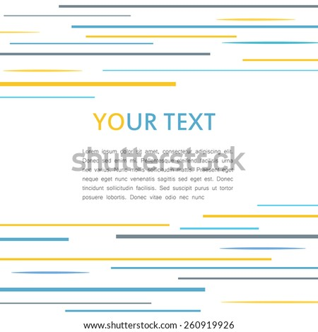 Lines abstract vector background  - stock vector