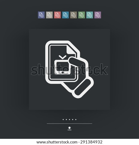 Link tv icon - stock vector