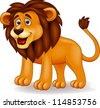 Lion cartoon - stock vector