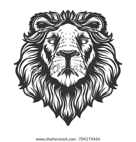 lion growling coloring pages - photo#38