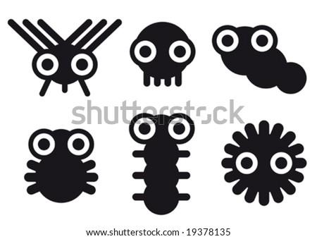 little creatures - stock vector