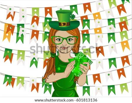 Leprechaun Girl Stock Images Royalty Free Images