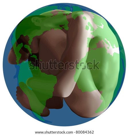 Live Earth, eps 10 - stock vector