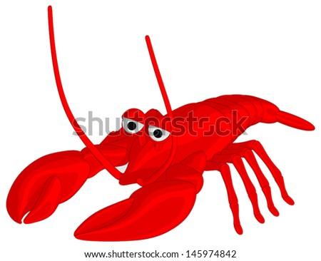 Lobster - stock vector