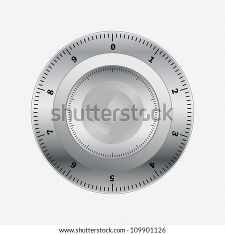 Lock - stock vector