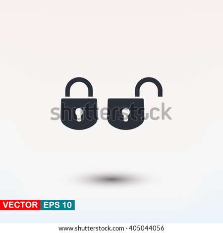 Lock icon, Lock icon eps, Lock icon art, Lock icon jpg, Lock icon web, Lock icon ai, Lock icon app, Lock icon flat, Lock icon logo, Lock icon sign, Lock icon ui, Lock icon vector, Lock icon image - stock vector