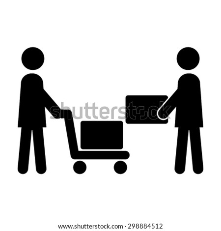 Logistic Icon  - stock vector