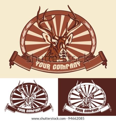 Logo - stock vector