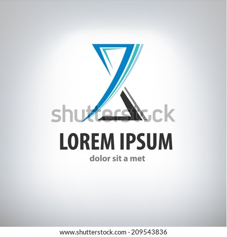 hourglass logo stock images royaltyfree images amp vectors