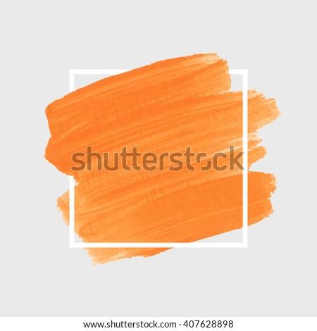 paint vector logo art brush paint vector original stock vector 407628898