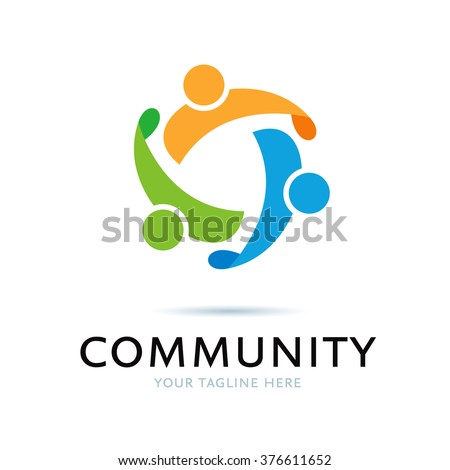 Logo Community Icon Element Template Design Logos