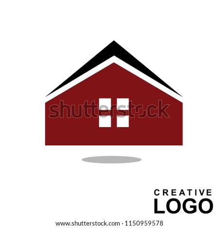 Logo Creative Home Property Concept with color brown, black