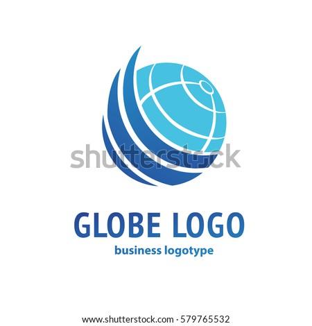 Logo Design Earth Vector Template Flat Stock Vector 579765532 ...