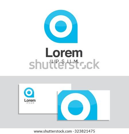 Logo design elements business card template stock vector 323821475 logo design elements with business card template vector graphic design elements for your company logo reheart Choice Image