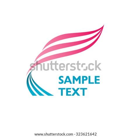 Logo Design Shapes Vector - stock vector