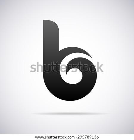 letter b stock vectors vector clip art shutterstock. Black Bedroom Furniture Sets. Home Design Ideas
