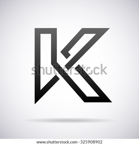 Logo letter k design template stock vector 2018 325908902 logo for letter k design template spiritdancerdesigns Choice Image