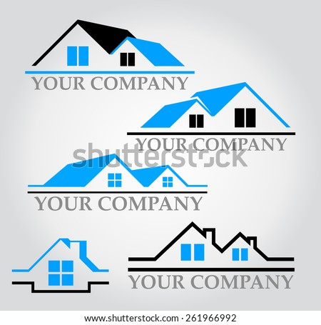 Logo for the real estate company
