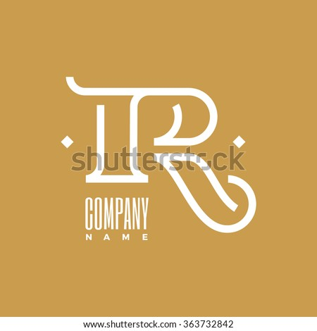 Logo R Letter Name Company  Stylish and modern logo for business  Vector  illustration. R Logo Stock Images  Royalty Free Images   Vectors   Shutterstock