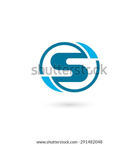 Logo s letter isolated on white stock vector 2018 291482048 logo s letter isolated on white background vector illustration eps 10 thecheapjerseys Choice Image
