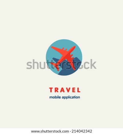 Logo template. Corporate icon for logotype. Vector. - stock vector