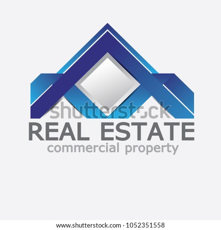 Logo Template Real Estate Can Be Adapt To Brochure Annual Report Magazine