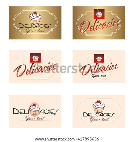 Logotype, logo design elements.