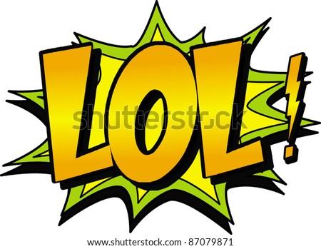 Lol Stock Vector 178718174 Shutterstock