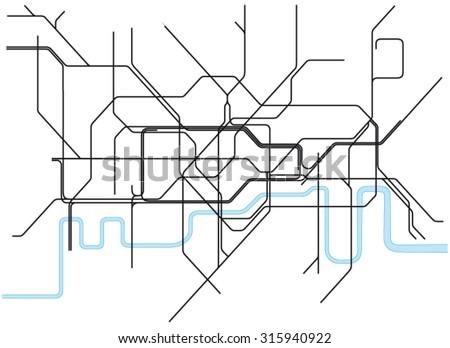 london underground subway map
