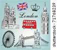 London vector - stock