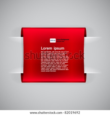 Loops label, vector illustration. - stock vector