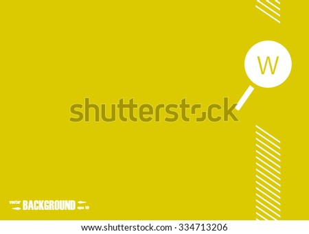 Loupe Search WWW. Abstract vector background for your work: document, presentation, web and mobile applications, business infographic, illustration template design, banner, site, brochure, cover - stock vector