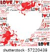 Love - stock vector