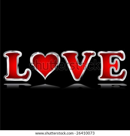 LOVE - stock vector