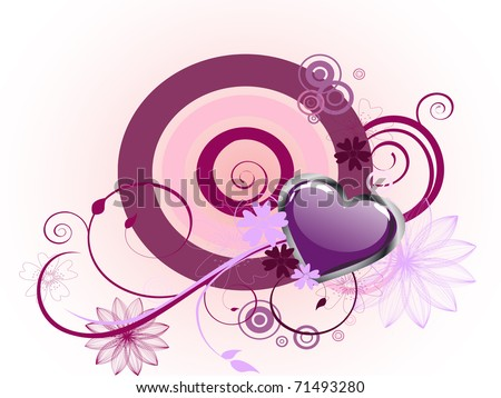 love design - vector - stock vector