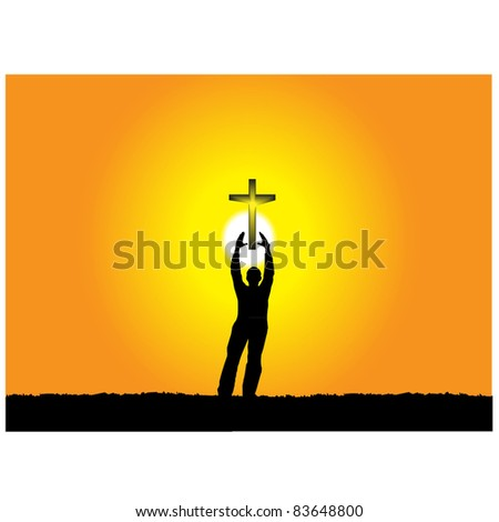 Love Religion.Vector - stock vector