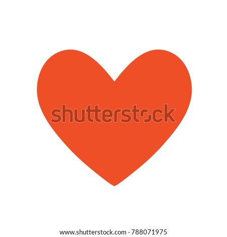 Love Sign Heart Symbol Stock Vector Hd Royalty Free 788071975